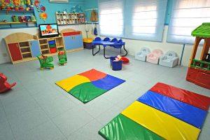 Aula de las ardillas de la Escuela Infantil Bambú de Alcobendas