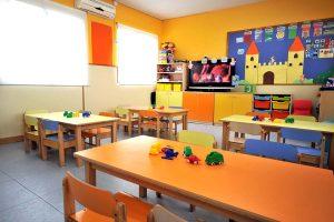 Aula de las Jirafas de la Escuela Infantil Bambú de Alcobendas
