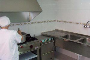 Cocina propia de la Escuela Infantil Bambú de Alcobendas