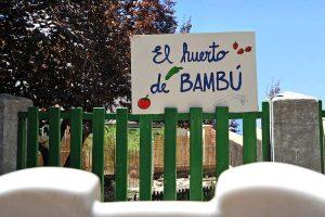 Huerto de la Escuela Infantil Bambú de Alcobendas