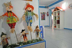 Espacios decorados con imaginación en la Escuela Infantil Bambú de Alcobendas