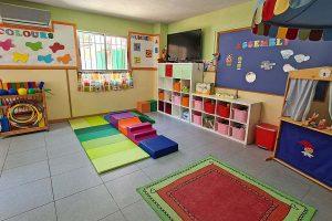 Aula de las Ranas de la Escuela Infantil Bambú de Alcobendas